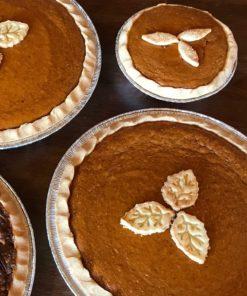 gluten free pumpkin pie