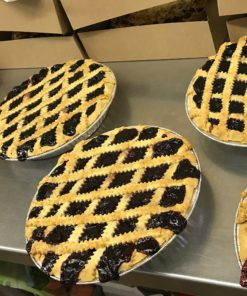 blueberry gluten free fruit pies