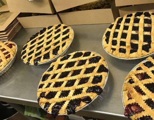 blueberry gluten free fruit pies