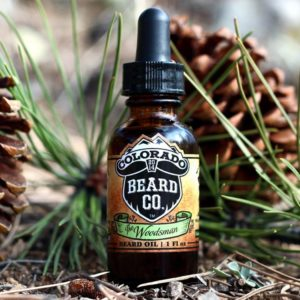 beard oil woodsman