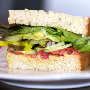 gluten free deli half sandwich