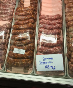 colorado made locally raised pork sausage
