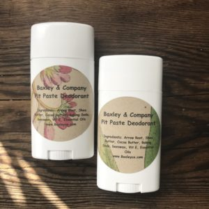 natural lemon deodorant