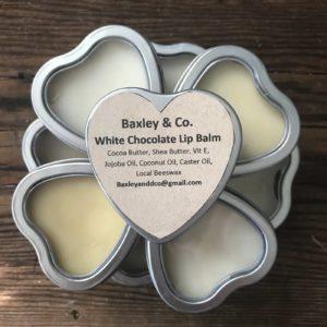 white choloate lip balm
