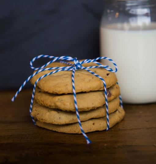 peanut butter cookies by the dozen