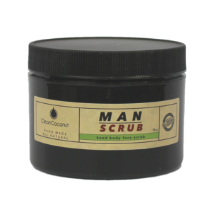 man scrub hemp