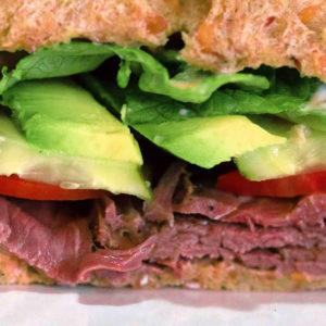 gluten free deli sandwich