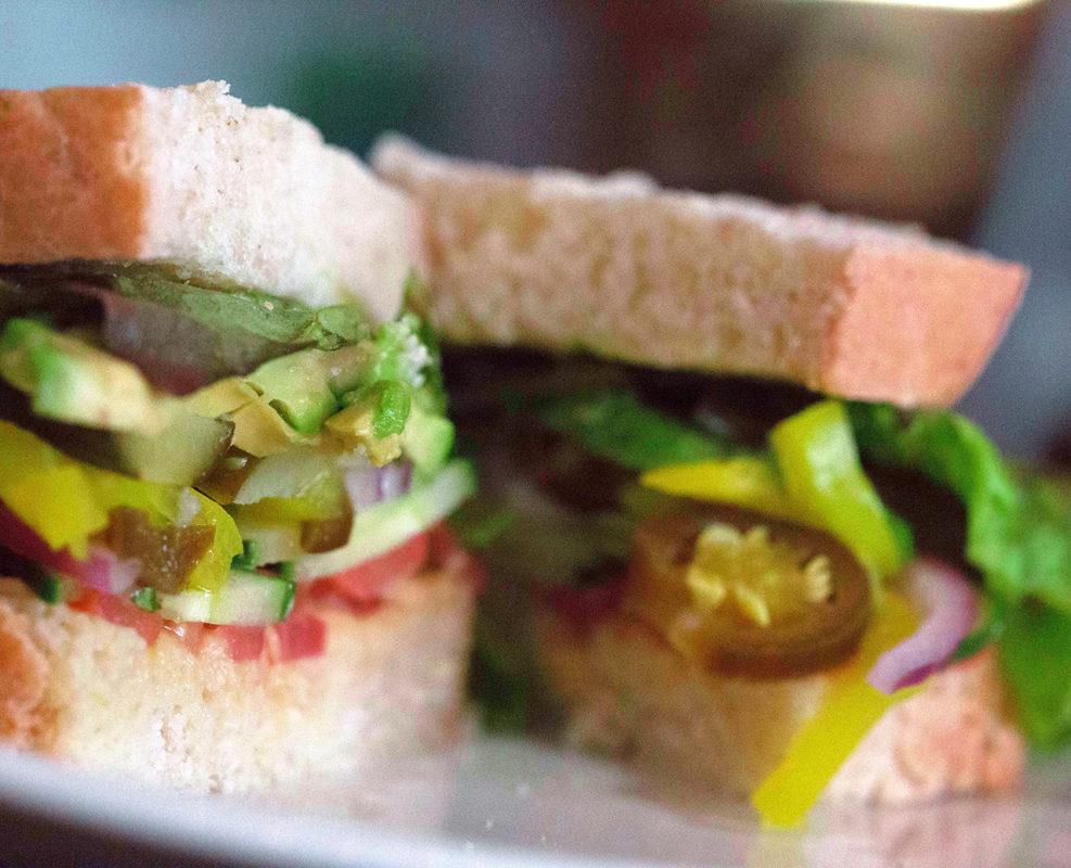 vegi GF sandwich boulder deli